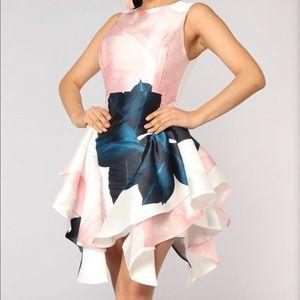 Mademoiselle Flare Dress - Floral